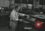 Image of rolling metal piece Pasadena California USA, 1958, second 8 stock footage video 65675023670