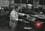 Image of rolling metal piece Pasadena California USA, 1958, second 9 stock footage video 65675023670