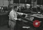 Image of rolling metal piece Pasadena California USA, 1958, second 10 stock footage video 65675023670