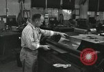 Image of rolling metal piece Pasadena California USA, 1958, second 11 stock footage video 65675023670
