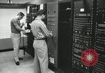 Image of Control board of an instrument Pasadena California USA, 1958, second 5 stock footage video 65675023675