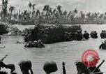 Image of wounded US soldiers at Tarawa Gilbert Islands, 1943, second 11 stock footage video 65675023681