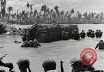 Image of wounded US soldiers at Tarawa Gilbert Islands, 1943, second 12 stock footage video 65675023681