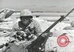 Image of war scenes form battle of Tarawa Gilbert Islands, 1943, second 3 stock footage video 65675023682