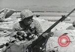 Image of war scenes form battle of Tarawa Gilbert Islands, 1943, second 4 stock footage video 65675023682
