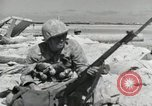 Image of war scenes form battle of Tarawa Gilbert Islands, 1943, second 6 stock footage video 65675023682