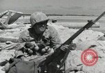 Image of war scenes form battle of Tarawa Gilbert Islands, 1943, second 8 stock footage video 65675023682