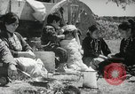 Image of Navajo Native American Indian family United States USA, 1938, second 4 stock footage video 65675023687