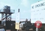 Image of Asphalt plant Long Binh Vietnam, 1969, second 9 stock footage video 65675023700