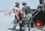 Image of M110 Howitzer Long Binh Vietnam, 1969, second 7 stock footage video 65675023701