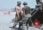 Image of M110 Howitzer Long Binh Vietnam, 1969, second 8 stock footage video 65675023701