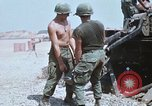 Image of M110 Howitzer Long Binh Vietnam, 1969, second 9 stock footage video 65675023701