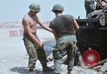 Image of M110 Howitzer Long Binh Vietnam, 1969, second 10 stock footage video 65675023701