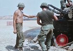 Image of M110 Howitzer Long Binh Vietnam, 1969, second 11 stock footage video 65675023701