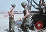 Image of M110 Howitzer Long Binh Vietnam, 1969, second 12 stock footage video 65675023701