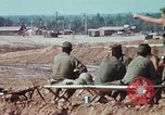 Image of construction site Long Binh Vietnam, 1969, second 9 stock footage video 65675023708