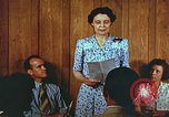 Image of Meeting in Harlan Harlan Kentucky USA, 1942, second 7 stock footage video 65675023726