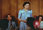 Image of Meeting in Harlan Harlan Kentucky USA, 1942, second 10 stock footage video 65675023726
