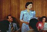 Image of Meeting in Harlan Harlan Kentucky USA, 1942, second 11 stock footage video 65675023726