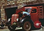 Image of trucker in Harlan Harlan Kentucky USA, 1942, second 5 stock footage video 65675023739