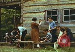 Image of carpentry class Harlan Kentucky USA, 1942, second 4 stock footage video 65675023742