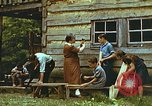 Image of carpentry class Harlan Kentucky USA, 1942, second 5 stock footage video 65675023742
