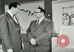 Image of discussion on US census United States USA, 1960, second 8 stock footage video 65675023755