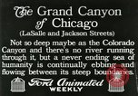 Image of movement in street Chicago Illinois USA, 1916, second 1 stock footage video 65675023760