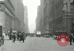 Image of movement in street Chicago Illinois USA, 1916, second 3 stock footage video 65675023760