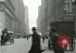 Image of movement in street Chicago Illinois USA, 1916, second 6 stock footage video 65675023760