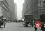 Image of movement in street Chicago Illinois USA, 1916, second 8 stock footage video 65675023760