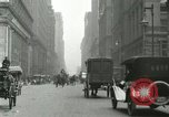 Image of movement in street Chicago Illinois USA, 1916, second 9 stock footage video 65675023760