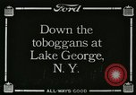 Image of Sledding Lake George New York USA, 1916, second 1 stock footage video 65675023767