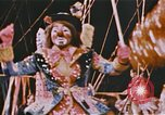 Image of Bears, horses, clowns, and trapeze artists perform in circus Nashville Tennessee USA, 1977, second 4 stock footage video 65675023778