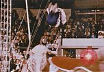 Image of Bears, horses, clowns, and trapeze artists perform in circus Nashville Tennessee USA, 1977, second 8 stock footage video 65675023778