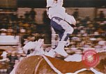 Image of Bears, horses, clowns, and trapeze artists perform in circus Nashville Tennessee USA, 1977, second 10 stock footage video 65675023778