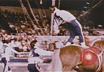Image of Bears, horses, clowns, and trapeze artists perform in circus Nashville Tennessee USA, 1977, second 11 stock footage video 65675023778