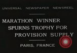Image of Annual 10mile marathon Paris France, 1931, second 1 stock footage video 65675023803