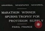 Image of Annual 10mile marathon Paris France, 1931, second 2 stock footage video 65675023803