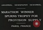 Image of Annual 10mile marathon Paris France, 1931, second 11 stock footage video 65675023803