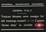 Image of Cadets Genoa Italy, 1931, second 2 stock footage video 65675023806