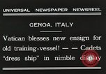 Image of Cadets Genoa Italy, 1931, second 8 stock footage video 65675023806