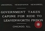 Image of Al Capone Chicago Illinois USA, 1931, second 1 stock footage video 65675023808
