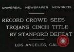 Image of Football match Los Angeles California USA, 1931, second 2 stock footage video 65675023809