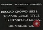 Image of Football match Los Angeles California USA, 1931, second 8 stock footage video 65675023809