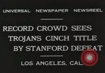 Image of Football match Los Angeles California USA, 1931, second 9 stock footage video 65675023809