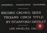 Image of Football match Los Angeles California USA, 1931, second 10 stock footage video 65675023809