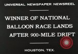 Image of National Balloon Race Houston Texas USA, 1930, second 8 stock footage video 65675023810