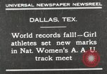 Image of National Women's track meet Dallas Texas, 1930, second 1 stock footage video 65675023814