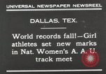 Image of National Women's track meet Dallas Texas, 1930, second 3 stock footage video 65675023814